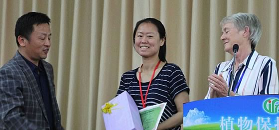 Young scientist awards - Dr Jiale Lv (IPP-CAAS, China)