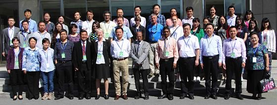 "Group photo of the 1st International Workshop of IOBC-APRS""Predatory Mites as Biological Control Agent's"" Working Group meetingBeijing, China, 15-19 May 2016"
