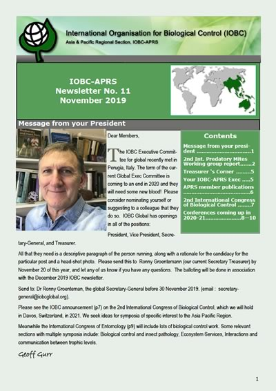 IOBC-APRS Newsletter