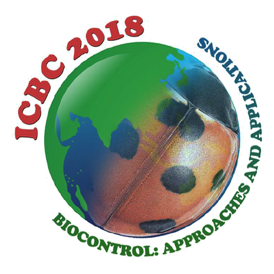 1st International Congress of Biological Control (ICBC 2018), 27-29 September 2018, Bengaluru, India.